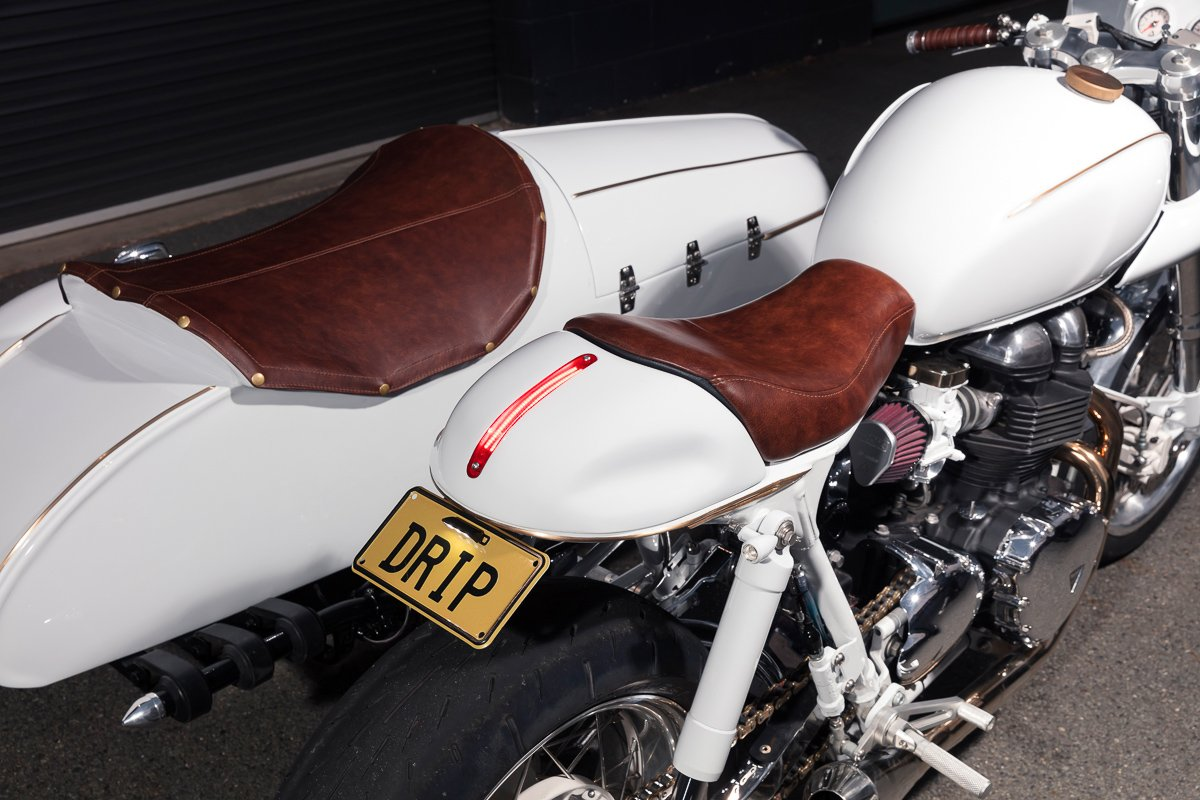 custom built sidecar triumph australia