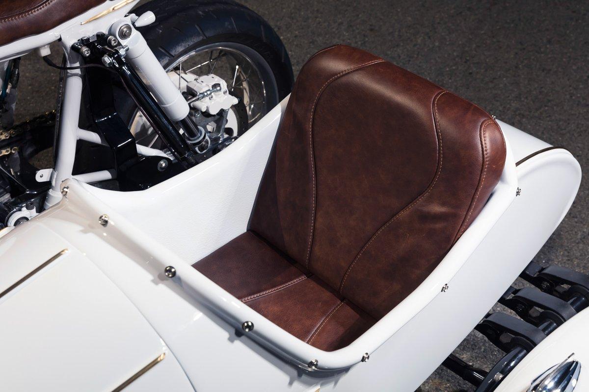 custom sidecar upholstery cafe racer custom built australia