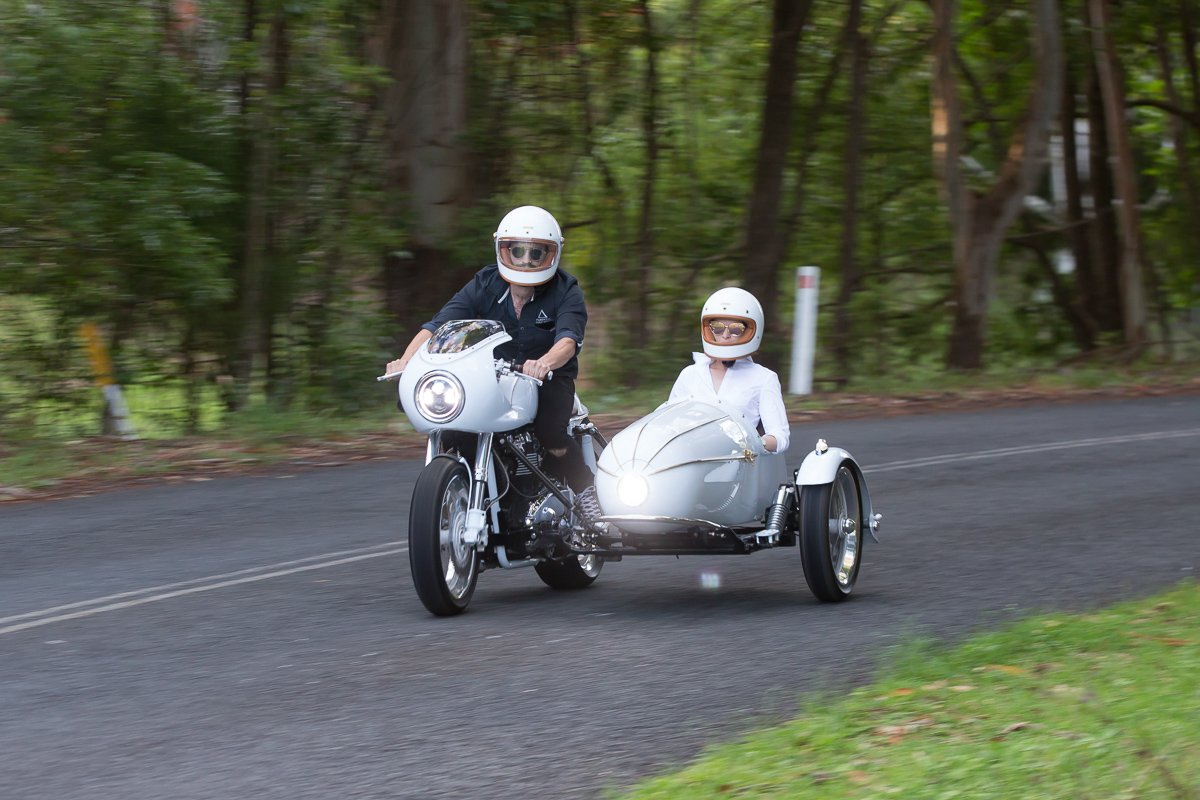 Cold Brew Cafe Racer Vittoria coffee triumph sidecar