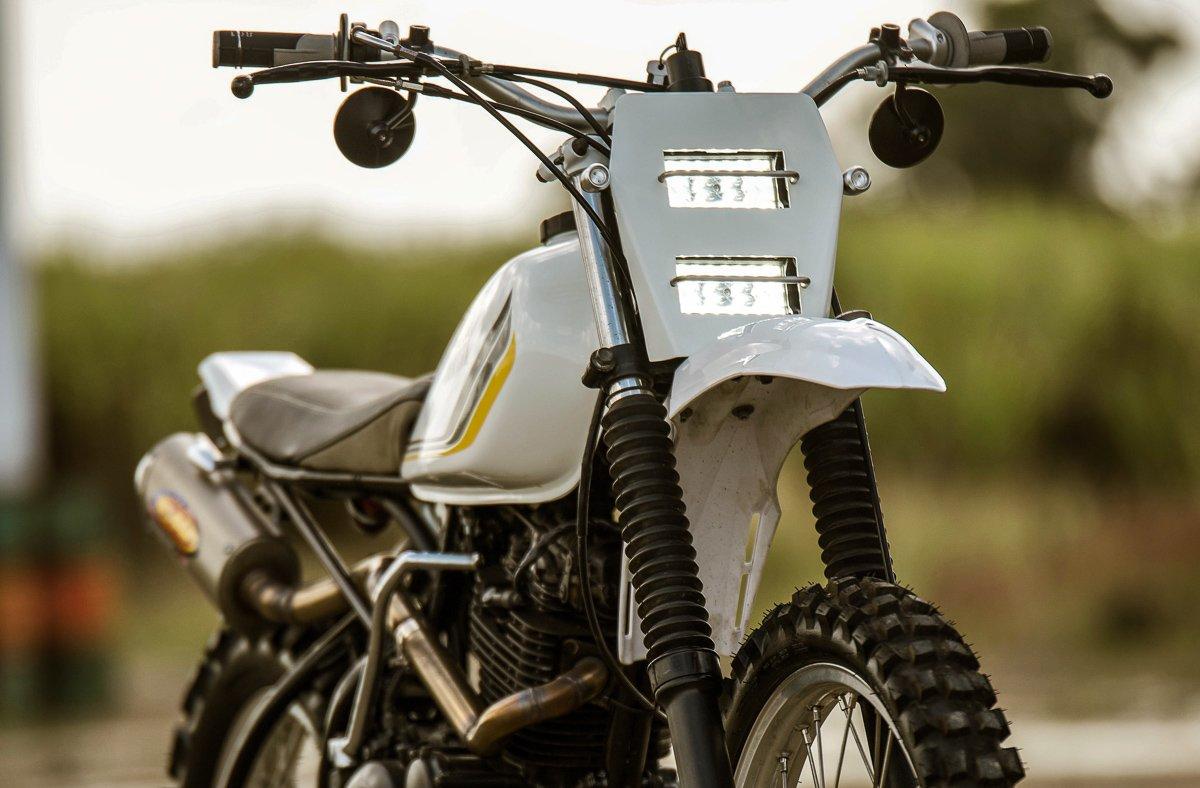 custom scrambler motorcycle australia XT yamaha