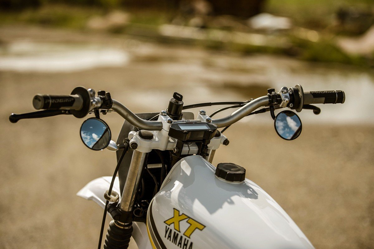 Custom motorcycle switches LED lights Australia