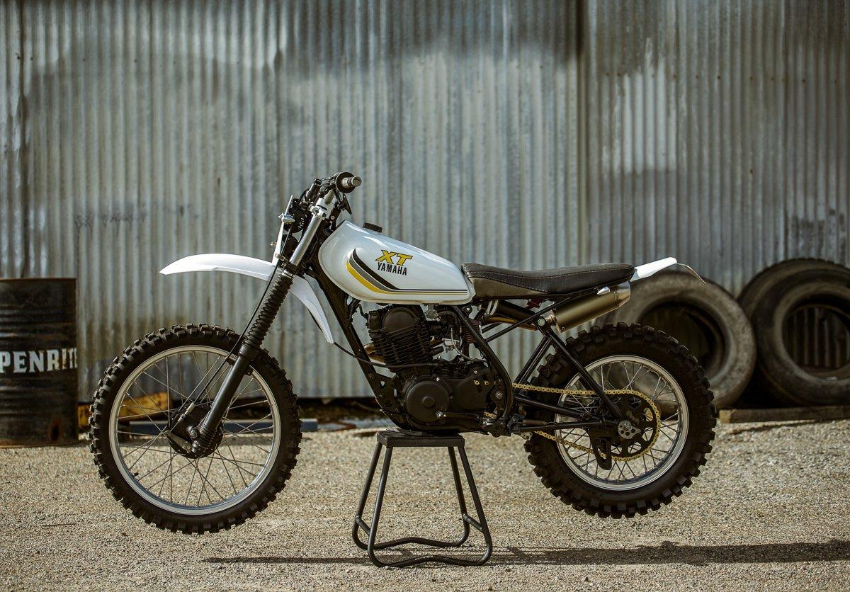 Yamaha XT250 scrambler Tracker