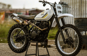 custom Scrambler XT250 yamaha motorcycle parts