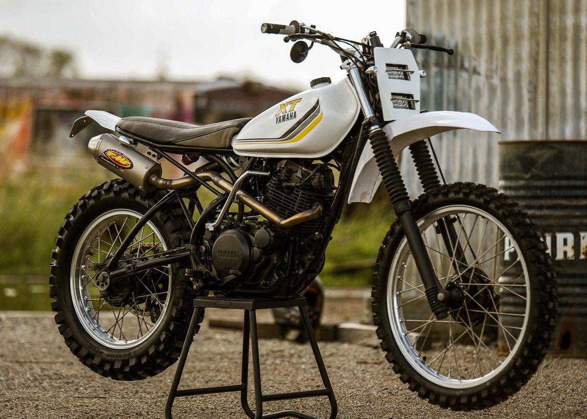 custom Scrambler XT250 yamaha motorcycle parts