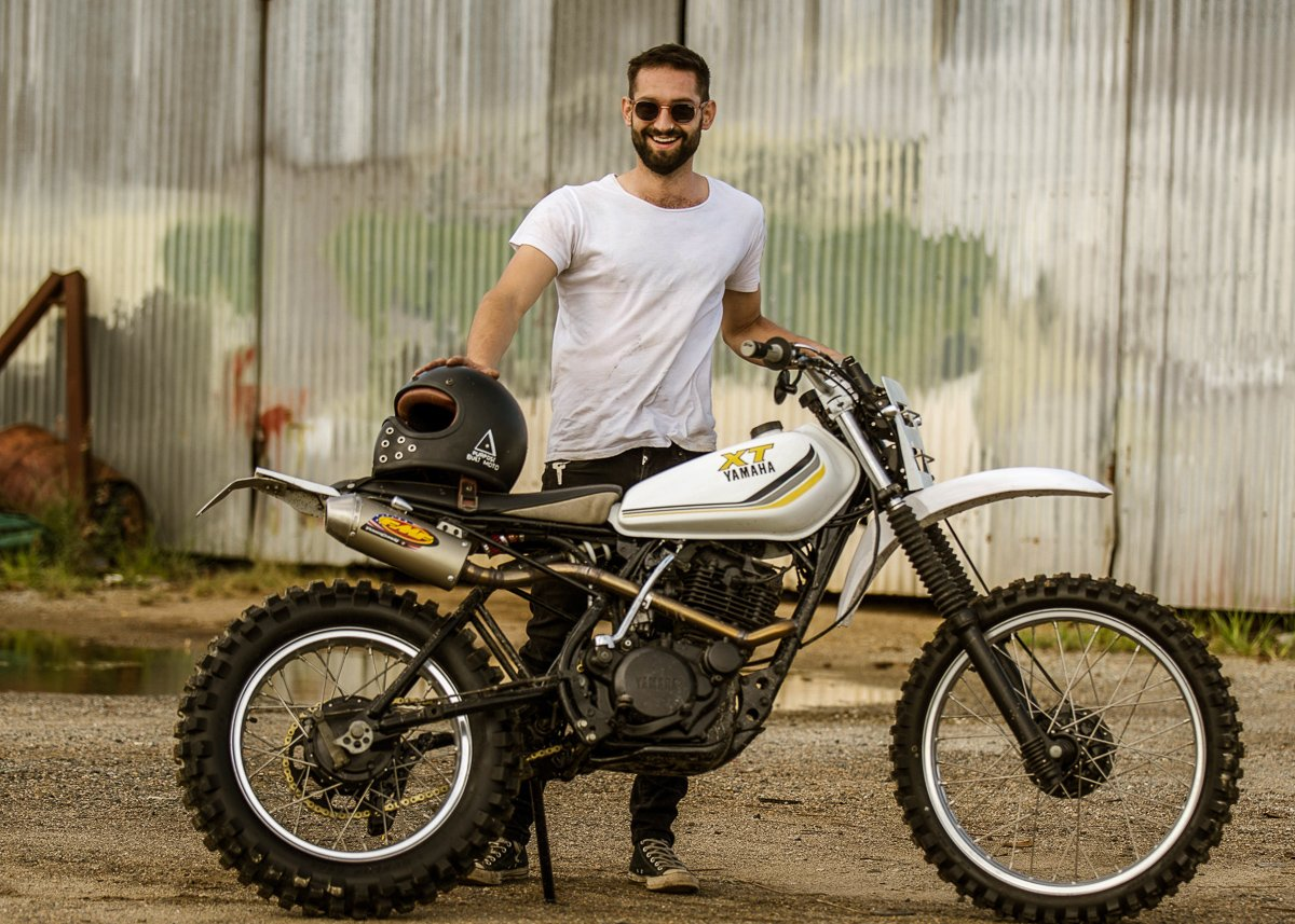 Custom motorcycle builder australia Scrambler cafe racer