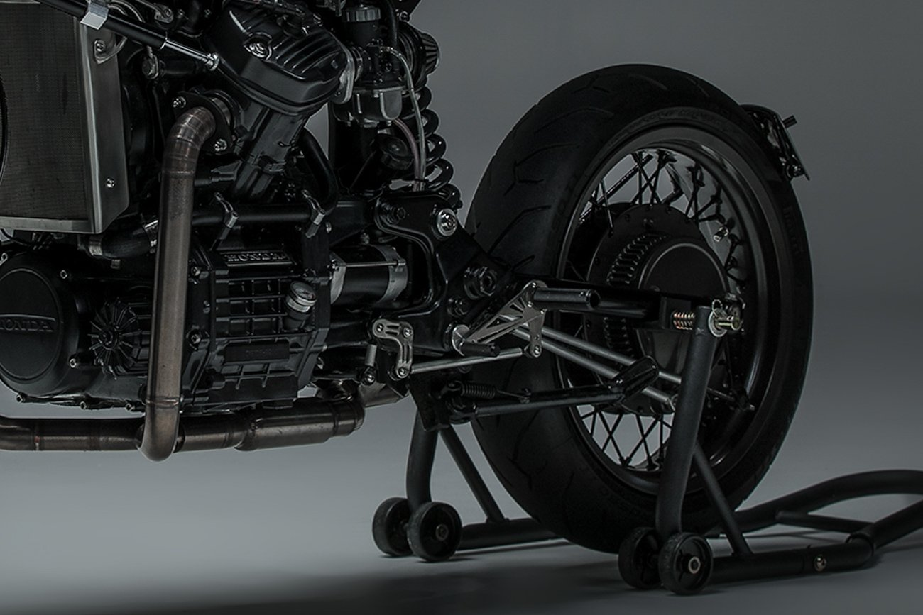 CX500 rearsets install how to