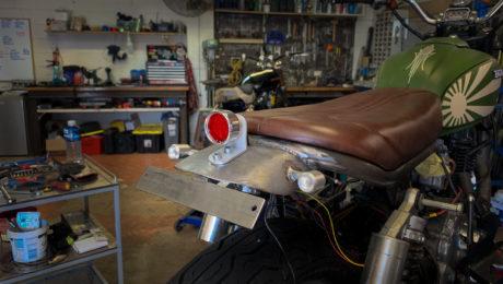 fender mounted brake light tail tidy