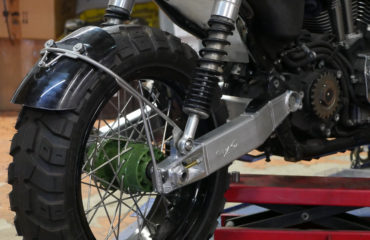 Fitting a cafe racer tail hoop to your project - Purpose Built Moto