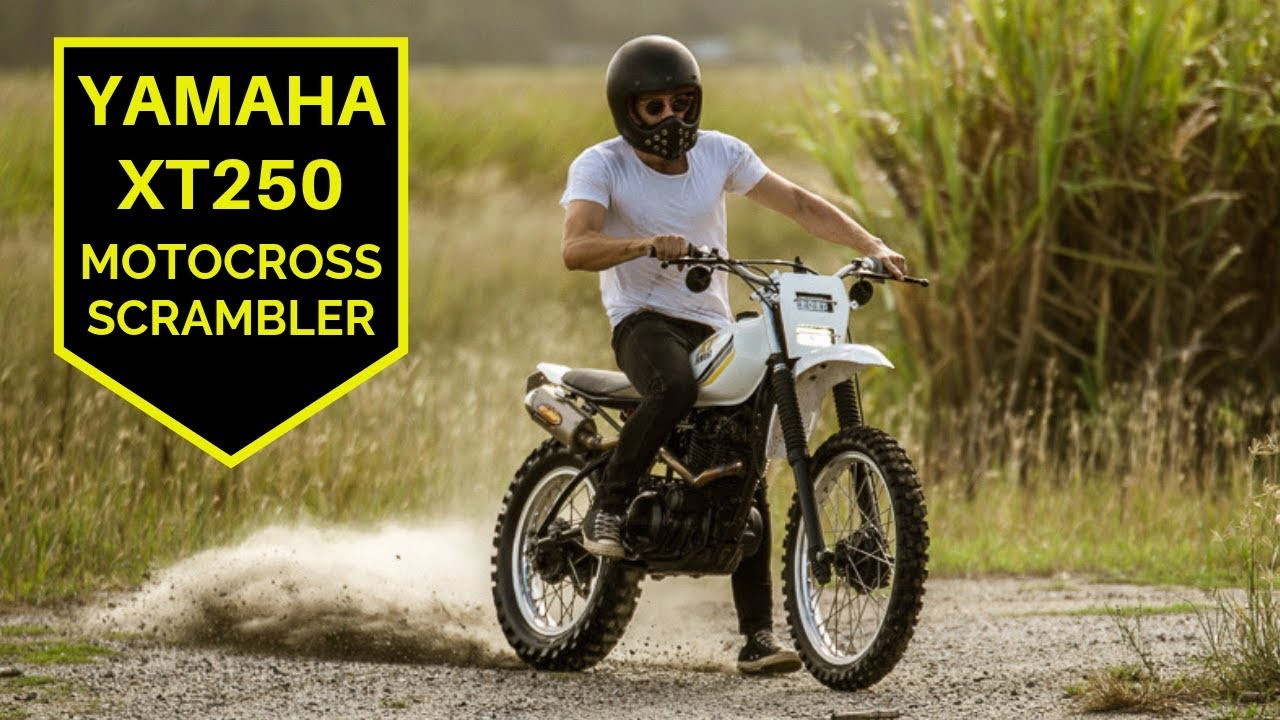 Yamaha XT250 MX Scrambler - How to build it