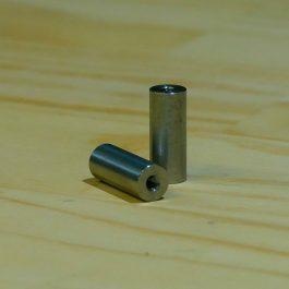 metric fabrication parts motorcycle M5 countersunk bung fabrication slug