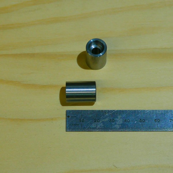 M6 countersunk allen key head bung 6mm metric weld on bike