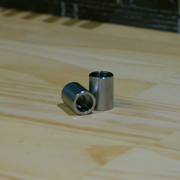 Countersunk bung threaded slug weld on M8 motorcycle fabrication