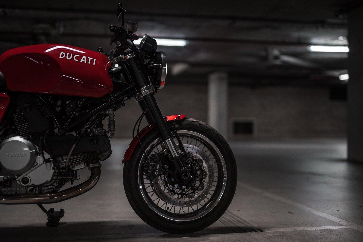 Jonich WHeels Australia Ducati Cafe Racer