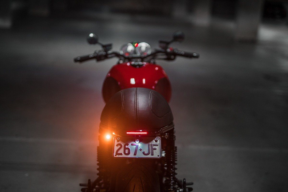 3 in 1 LED Indicators Ducati Custom cafe racer