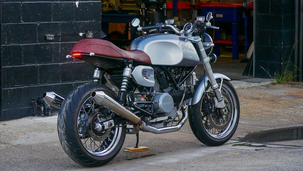 Motorcycle LED turn signal install blog ducati
