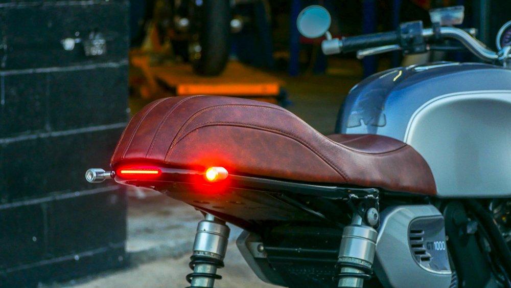 LED turn signal install ducati rear