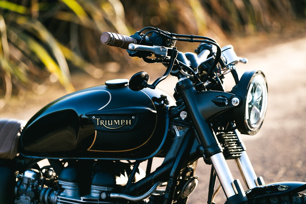 Triumph Scrambler LED turn signals