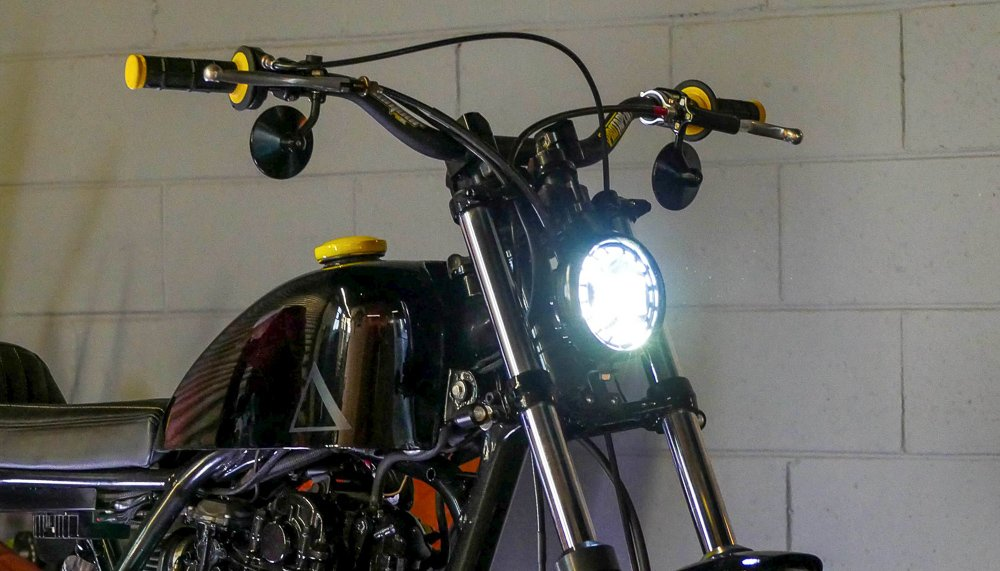 How to wire front LED indicators on a motorcycle