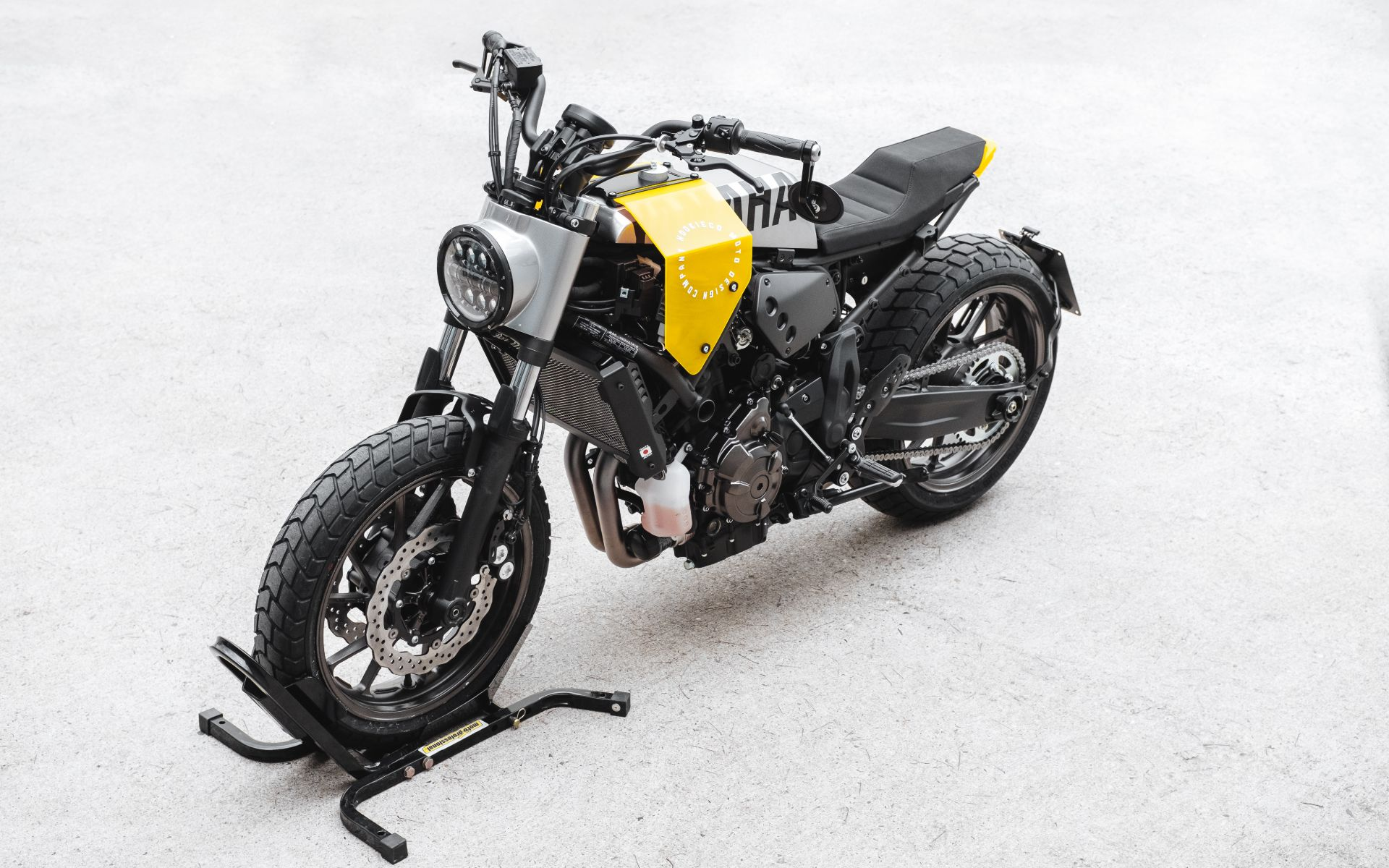 DIY XSR700 tracker kit custom motorcycle australia