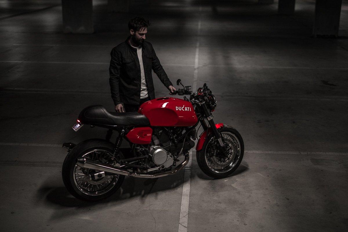 Italian Motorcycle design Ducati
