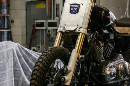 custom sportster harley bobber build scrambler how to