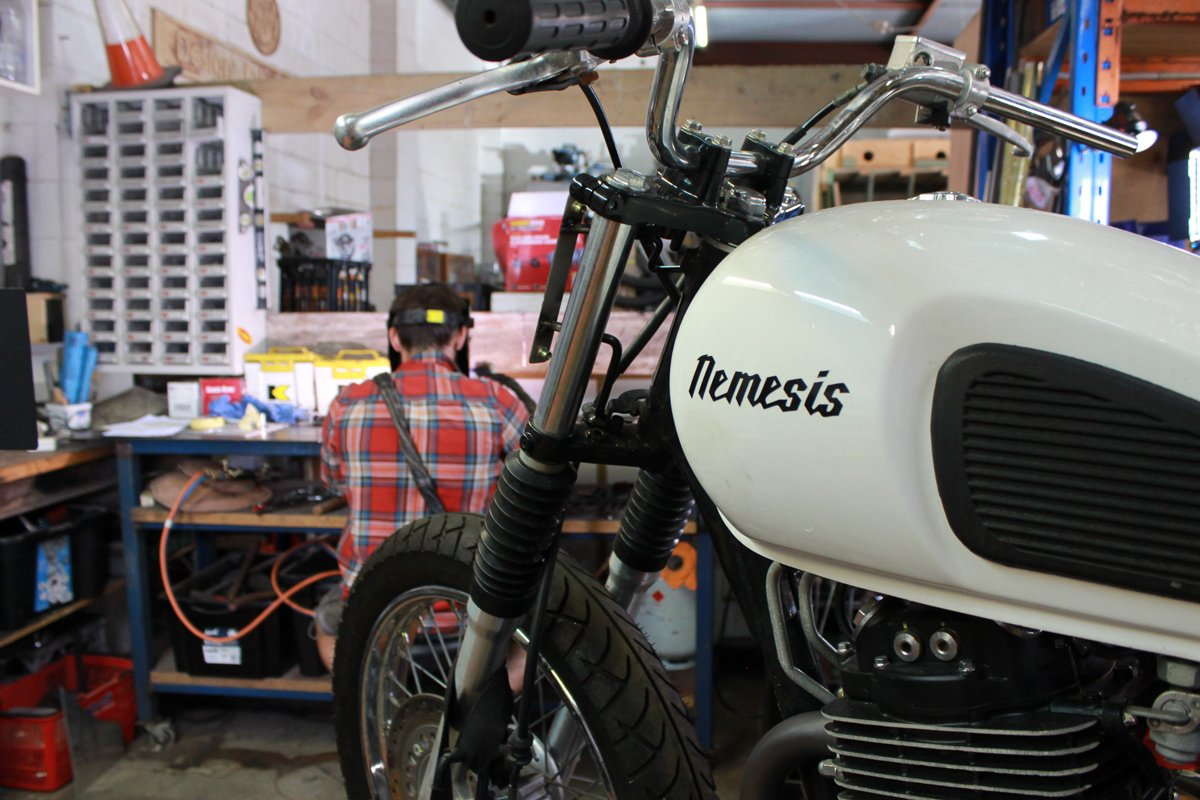Nemesis 400 scrambler build series