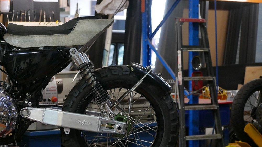 Harley sportster tracker video blog