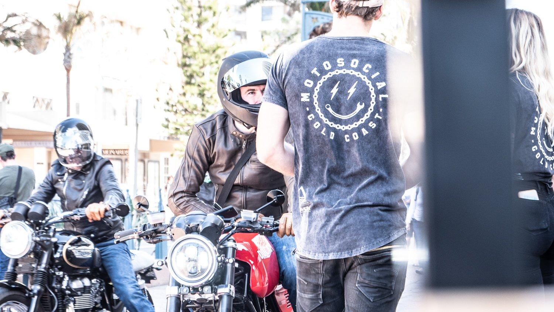 Motosocial Gold COast evenets motorcycle cafe racer