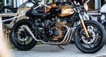 Cafe Racer Gold zcoast motosocial motorcycle event
