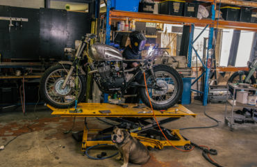 How to build a scrambler Sol invictus nemesis adventure motorcycle