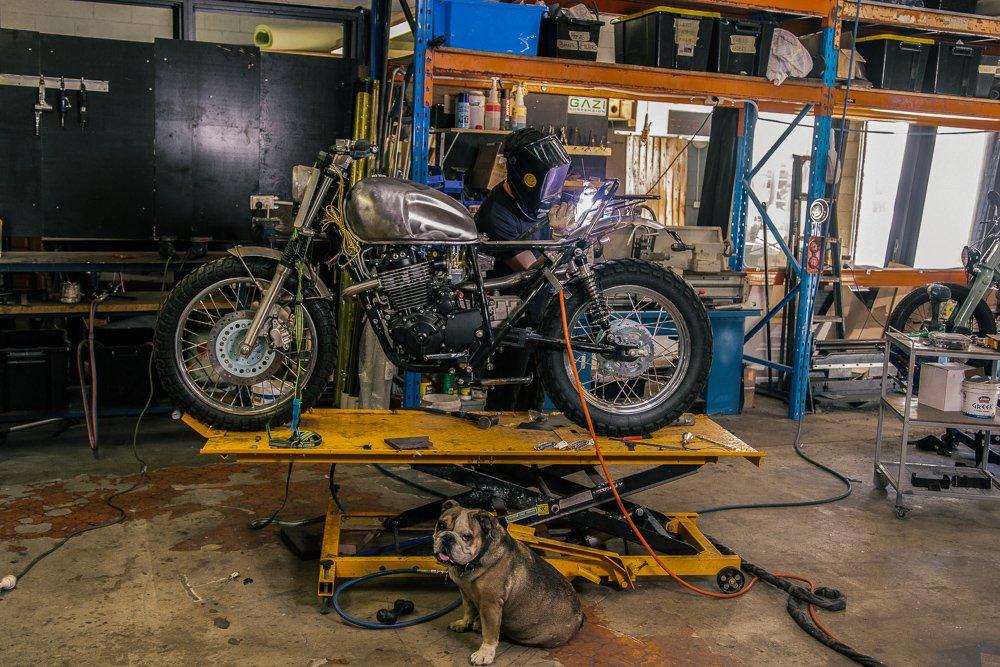 How to build a scrambler Sol invictus nemesis adventure motorcycle