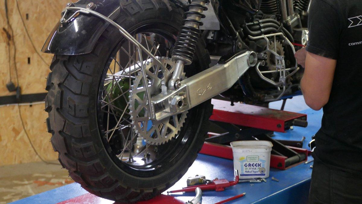off road sportster scrambler tracker purpose built moto