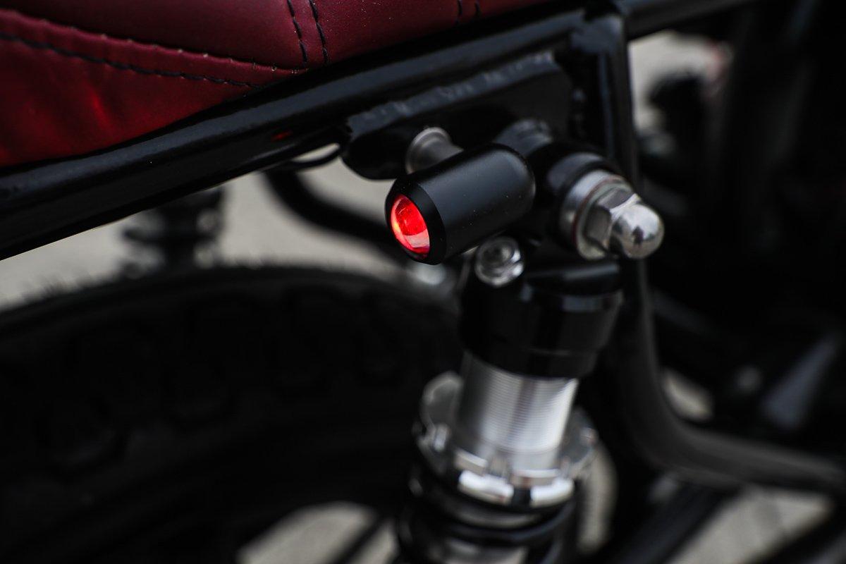 LED motorcycle lights LED blinkers Purpose built moto