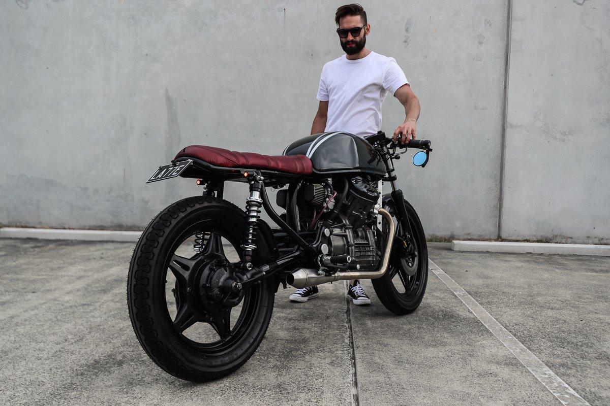 Tom John Purpose Built moto