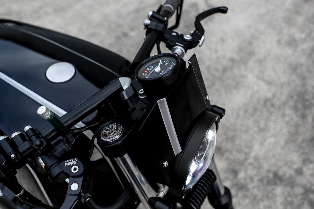LED headlight cafe racer motorcycle parts gold coast