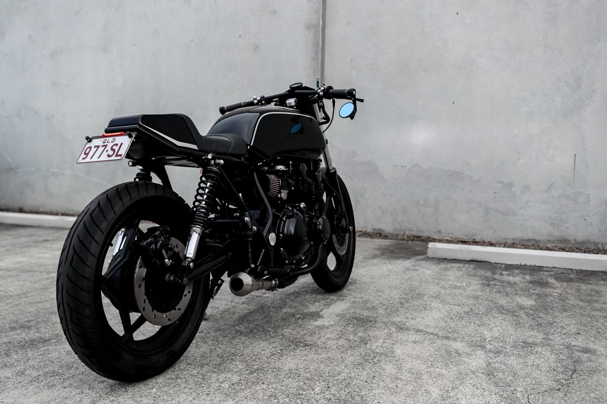 Suzuki Cafe Racer ausytralia motorcycle shop
