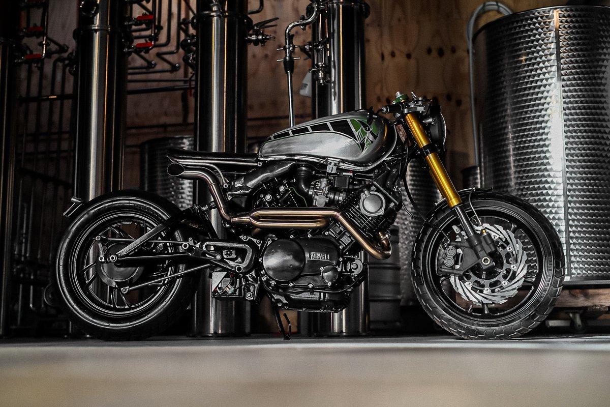 Yamaha XV750 custom motorcycle australia purpose built moto brisbane