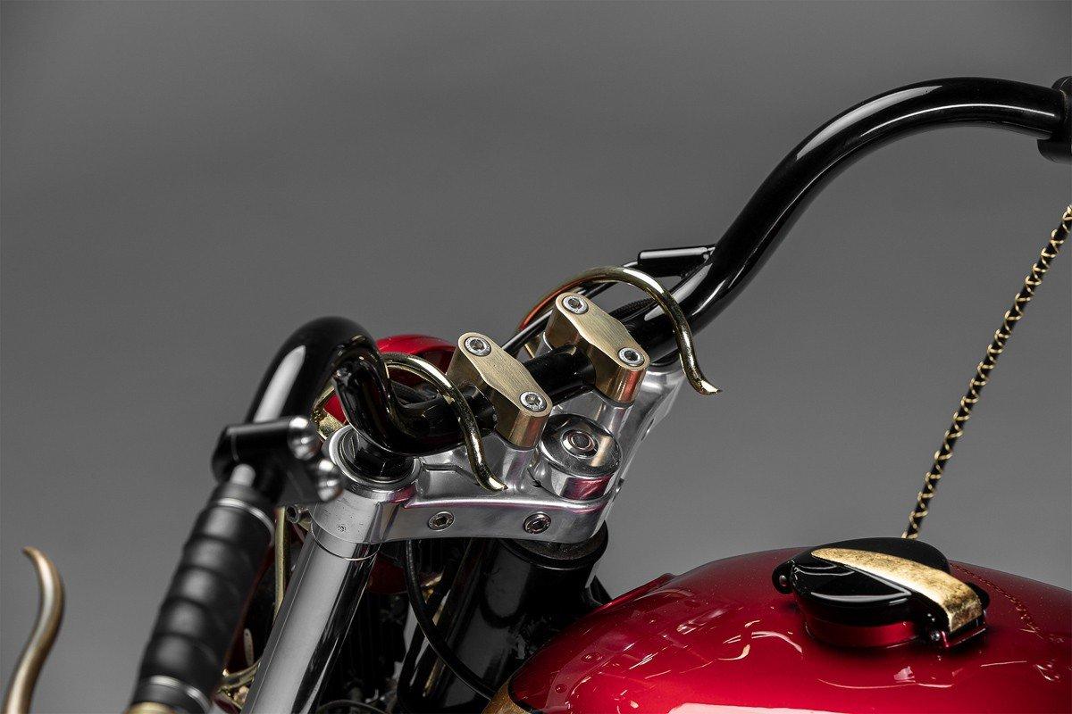 Motorcycle Handlebar 2 Button Switch - Black