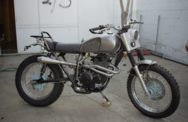 custom motorcycles gold coast adventure scrambler build