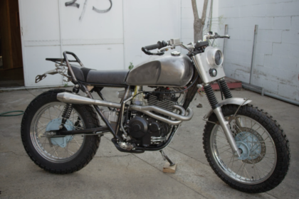 custom motorcycles gold coast adventure scrambler build