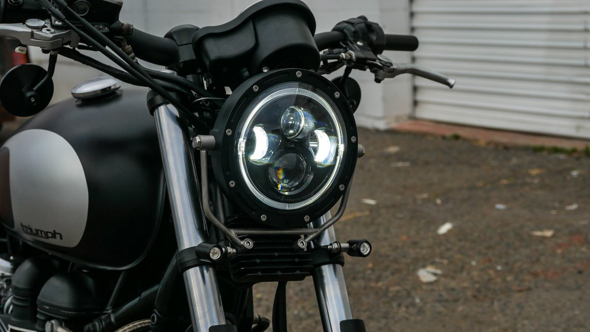 Flashpoint LED Headlight 7″ Purpose Built Moto