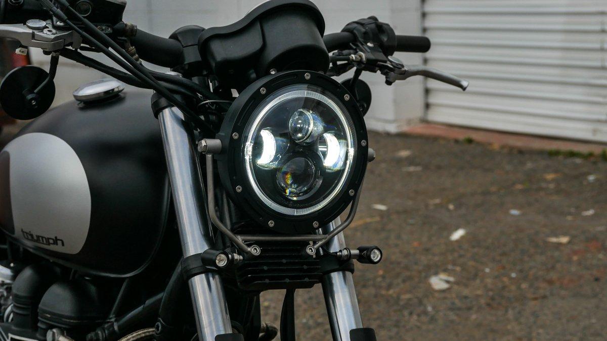 Flashpoint LED Headlight 7″ Purpose Built Moto