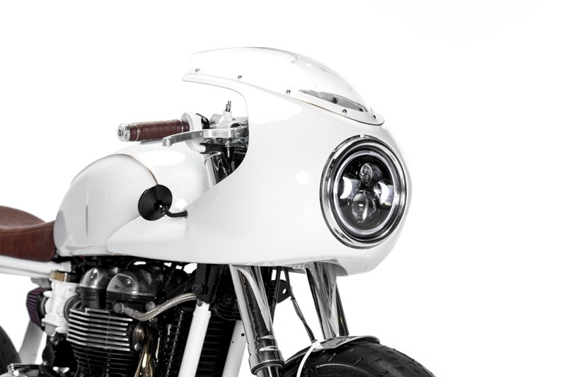 Custom Motorcycle LED Headlights - Purpose Built Moto