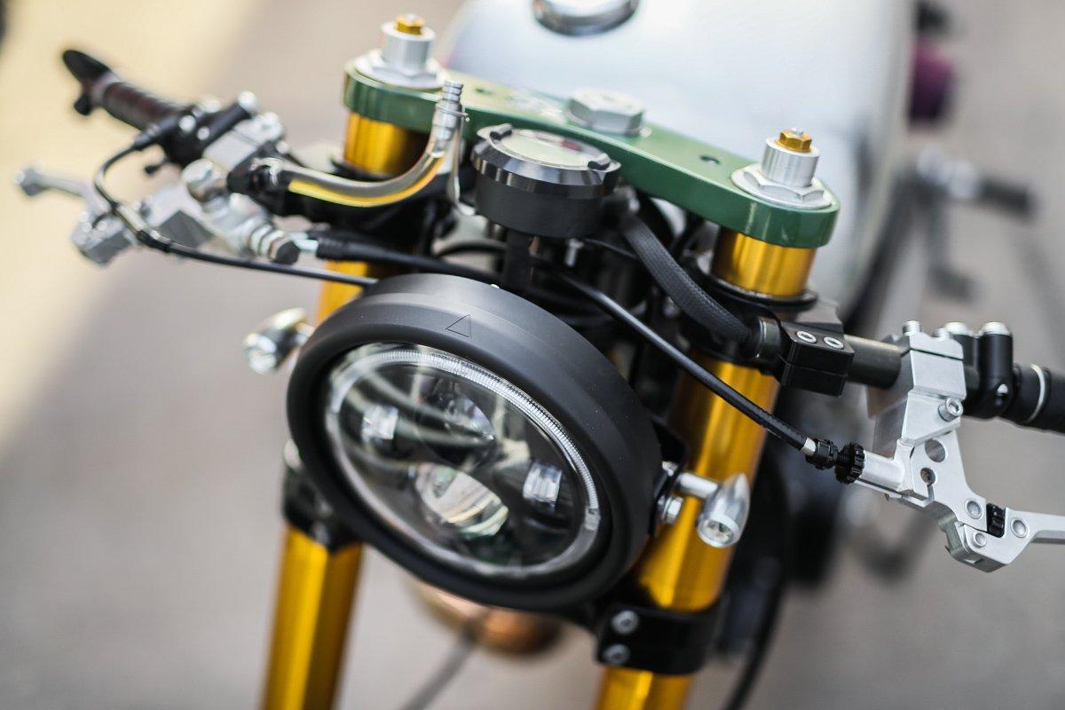 Purpose Built Moto Custom LED Headlights