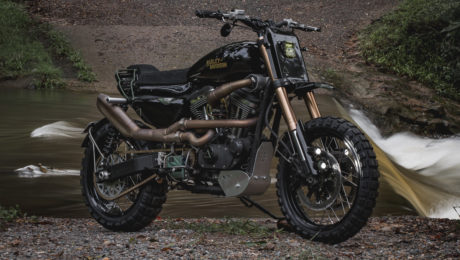 Adventure bike sportster gold coast