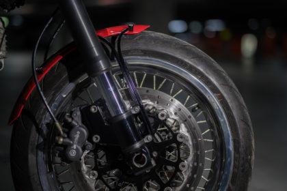 front aluminium fender motorcycle