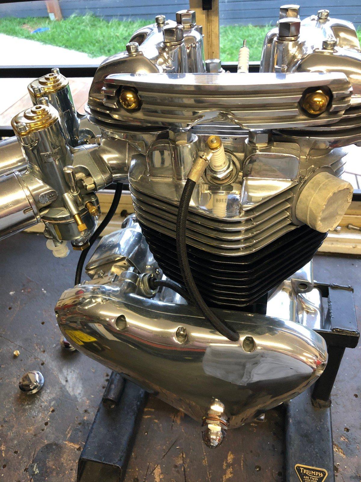 engine rebuild triumph motor