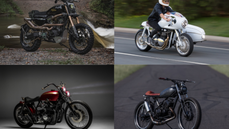 different styles of custom motorcycles
