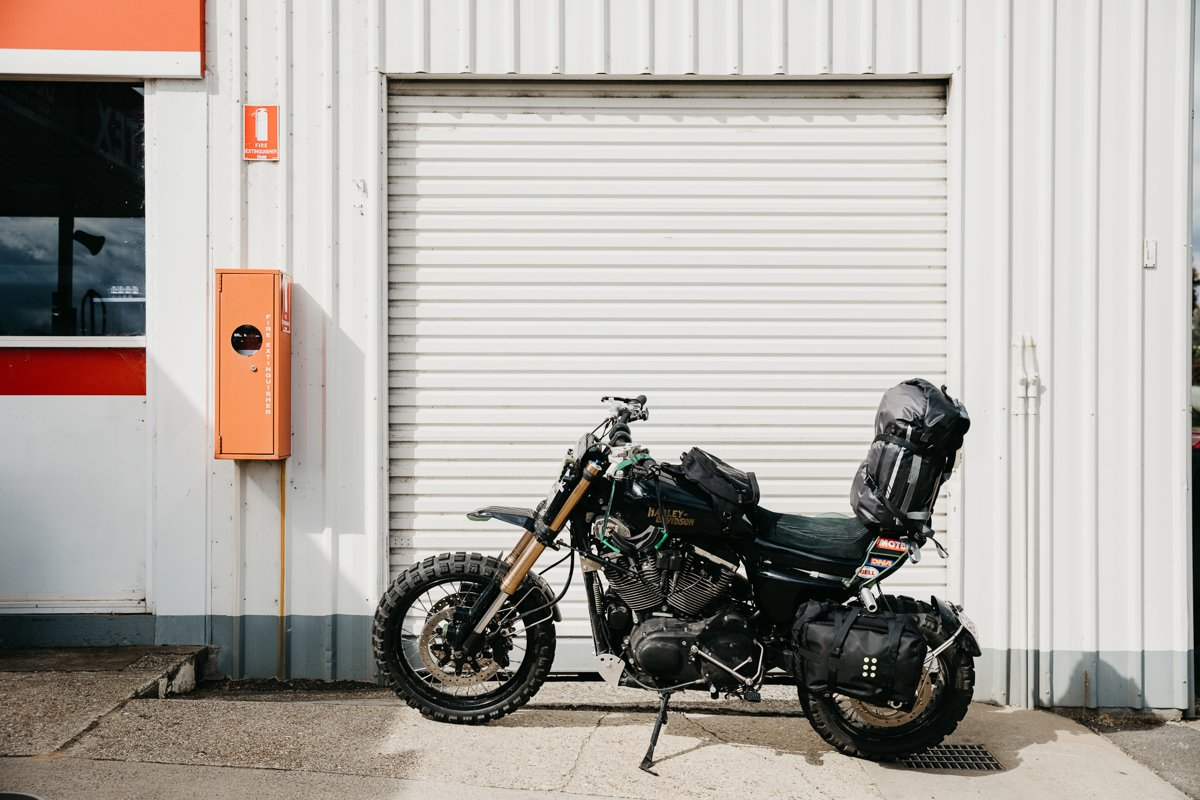 wide of the mark adventure sportster dual sport