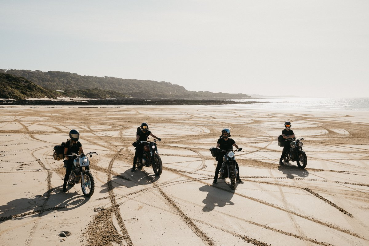 wide of the mark beach riding tasmania